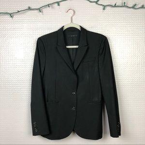 Gucci | 100% Wool Black Uniform Blazer IT44/US8